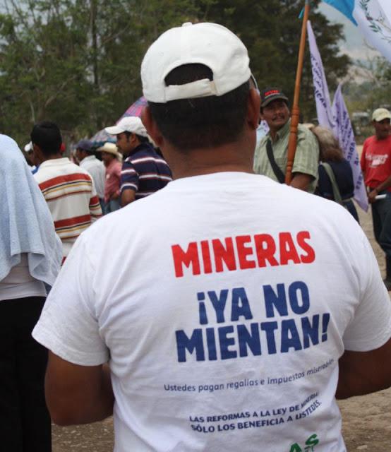 mineria guatemala san rafael peligro ambiental