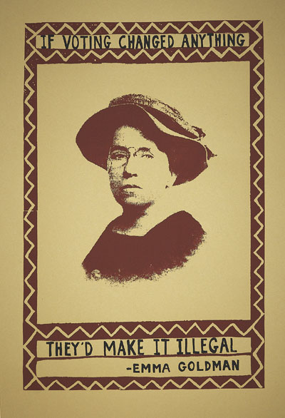 emma goldman illegal voting